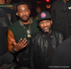 John Wall (L), Alex Gidewon (R) at Gold room in Atlanta