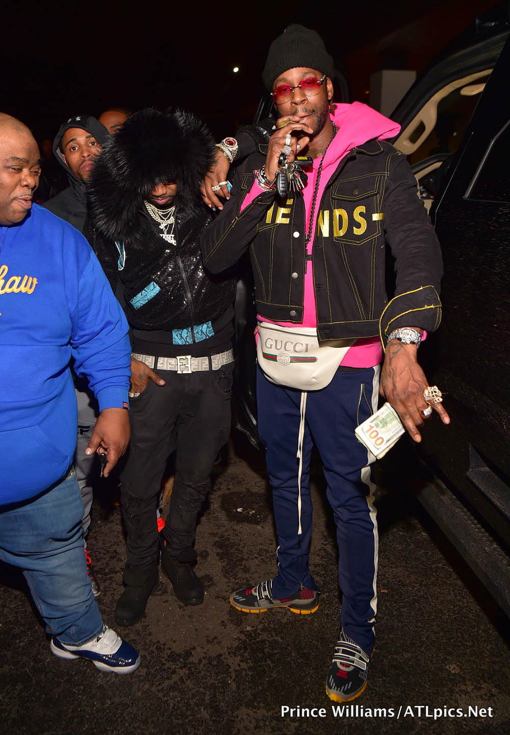 2 Chainz at Gold room in Atlanta