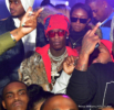 Young Thug at Big Bank Black 'No Cap' Party at Gold Room