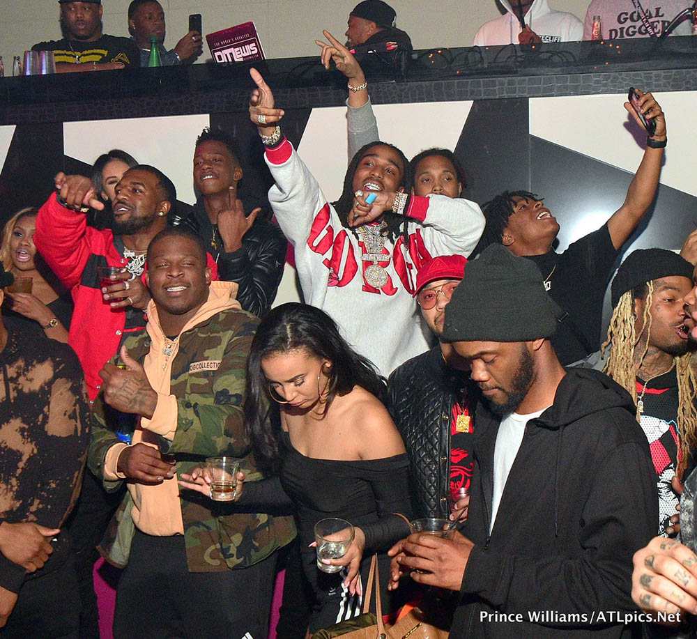 Quavo at Gold Room in Atlanta