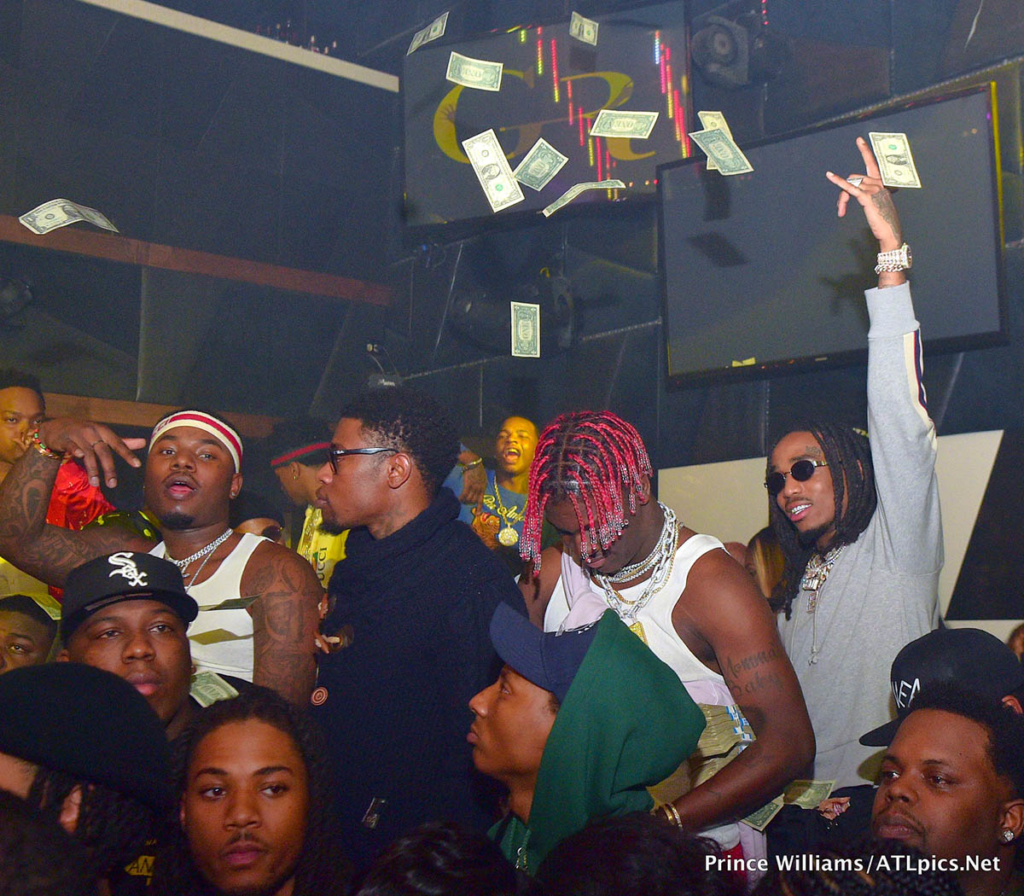 Big Bank Black 'No Cap' Party at Gold Room