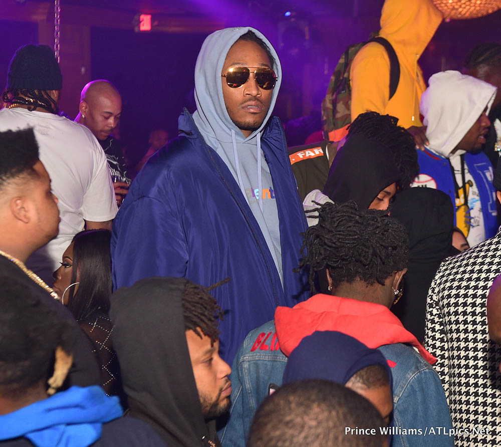 Future Hendrix at Medusa Lounge in Atlanta