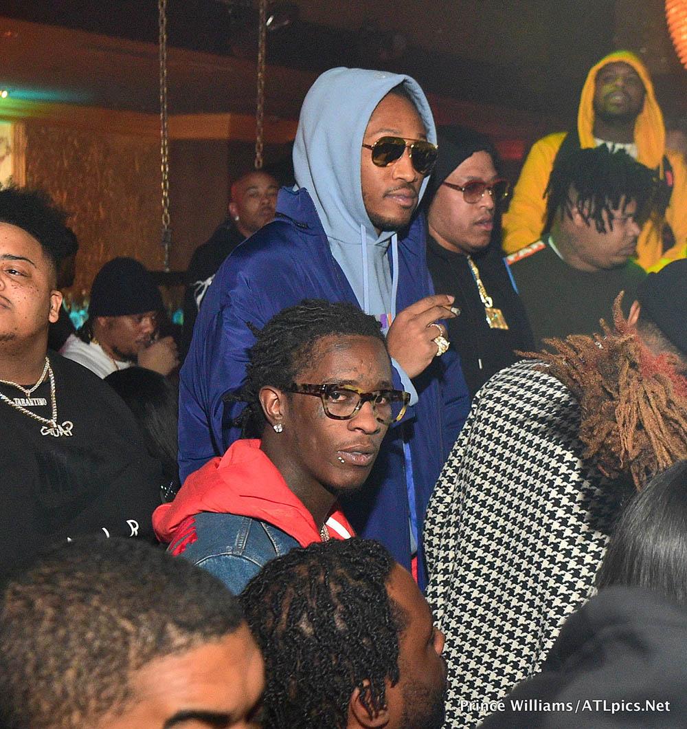 Young Thug, Future Hendrix at Medusa Lounge in Atlanta