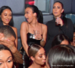 Draya Michele, Justin Combs, Quincy Brown at SL Lounge