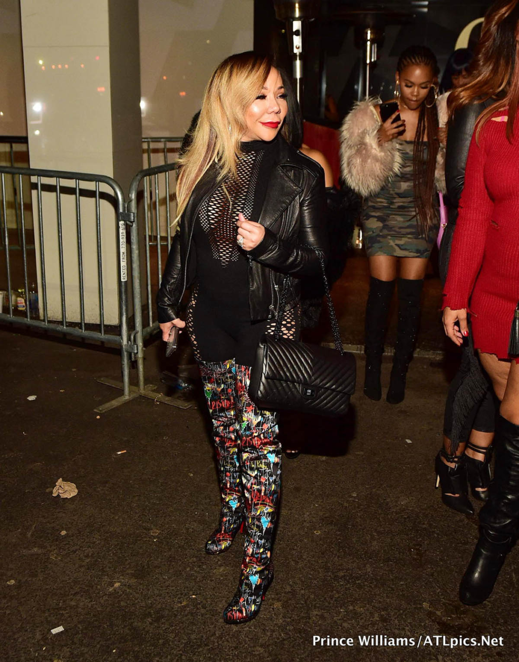 Tameka Tiny Harris at Gold Room in Atlanta