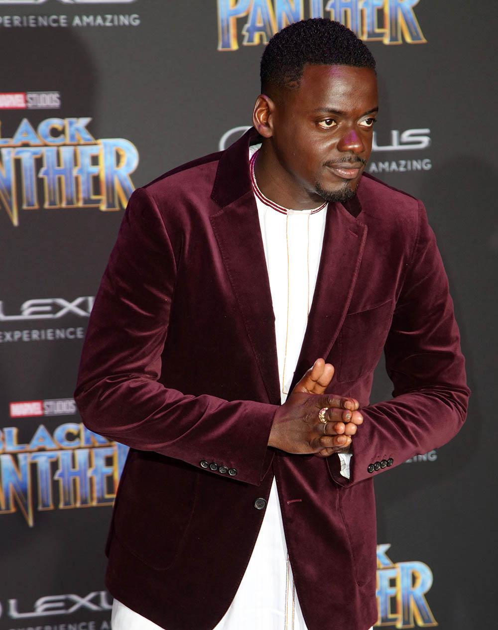 Daniel Kaluuya at Film Premiere of Black Panther