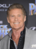 David Hasselhoff at Film Premiere of Black Panther