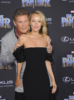 David Hasselhoff & Hayley Roberts at Film Premiere of Black Panther