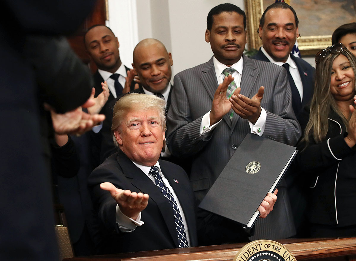 President Trump Signs Proclamation Honoring Dr. Martin Luther King Jr.