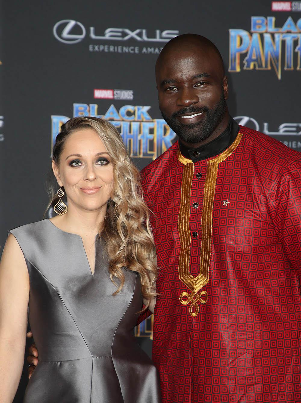 Iva Colter Mike Colter At World Premiere Of Marvel Studios Black Panther Sandra Rose