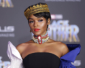 Janelle Monae at Film Premiere of Black Panther