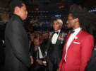 ay-Z and Janelle Monae attend the 60th Annual GRAMMY Awards