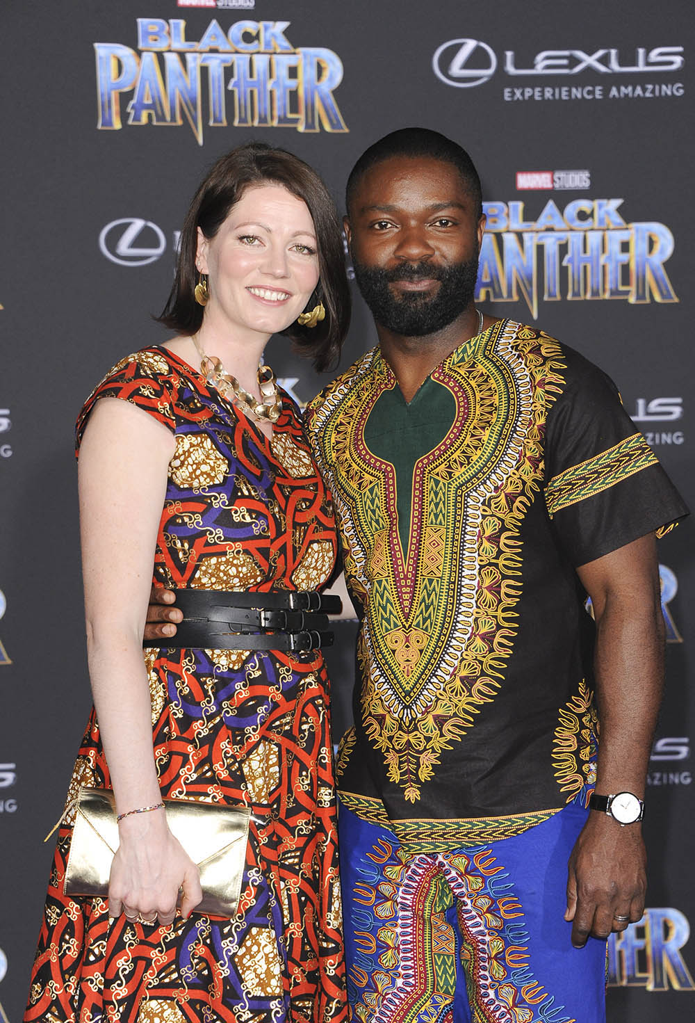 David & Jessica Oyelowo at Black Panther West Coast ...