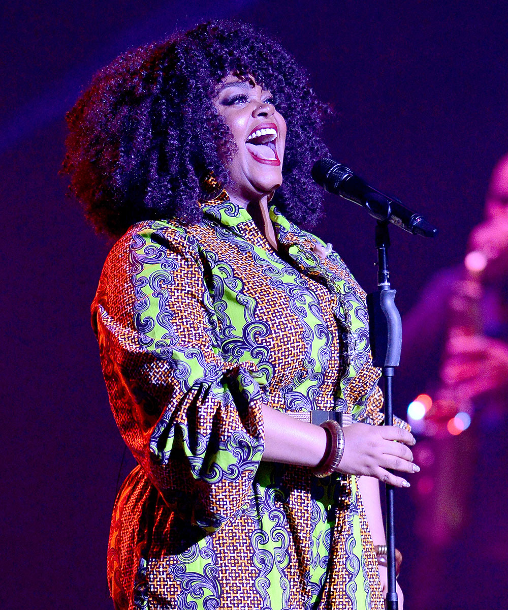 Jill Scott performs live in concert in Miami on Aug. 30, 2016
