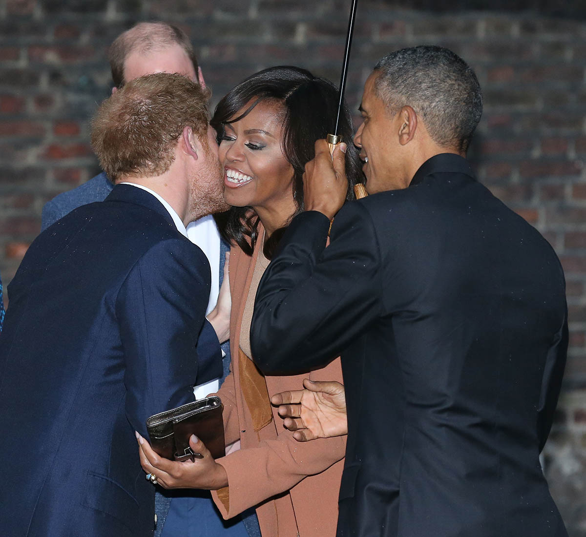 The Obamas Dine At Kensington Palace with Kate Middleton, Prince William and Prince Harry
