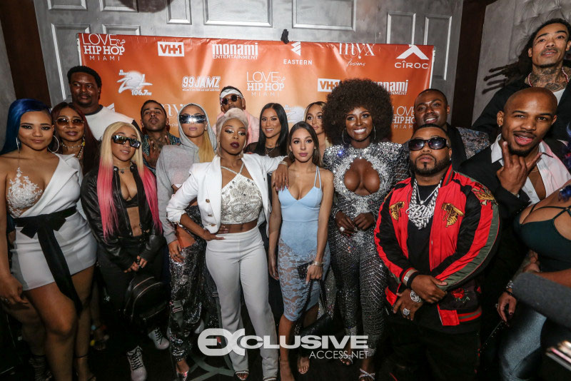 Cast at Love & Hip Hop: Miami Screening in Miami
