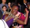 Lupita Nyongo at Film Premiere of Black Panther