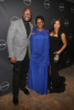 Malik Yoba, Antoinette Tuff, Toni Braxton at Lifetime Premiere of Faith Under Fire