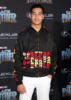 Marcus Scribner at Film Premiere of Black Panther