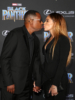 Martin Lawrence & Roberta Moradfar at Film Premiere of Black Panther