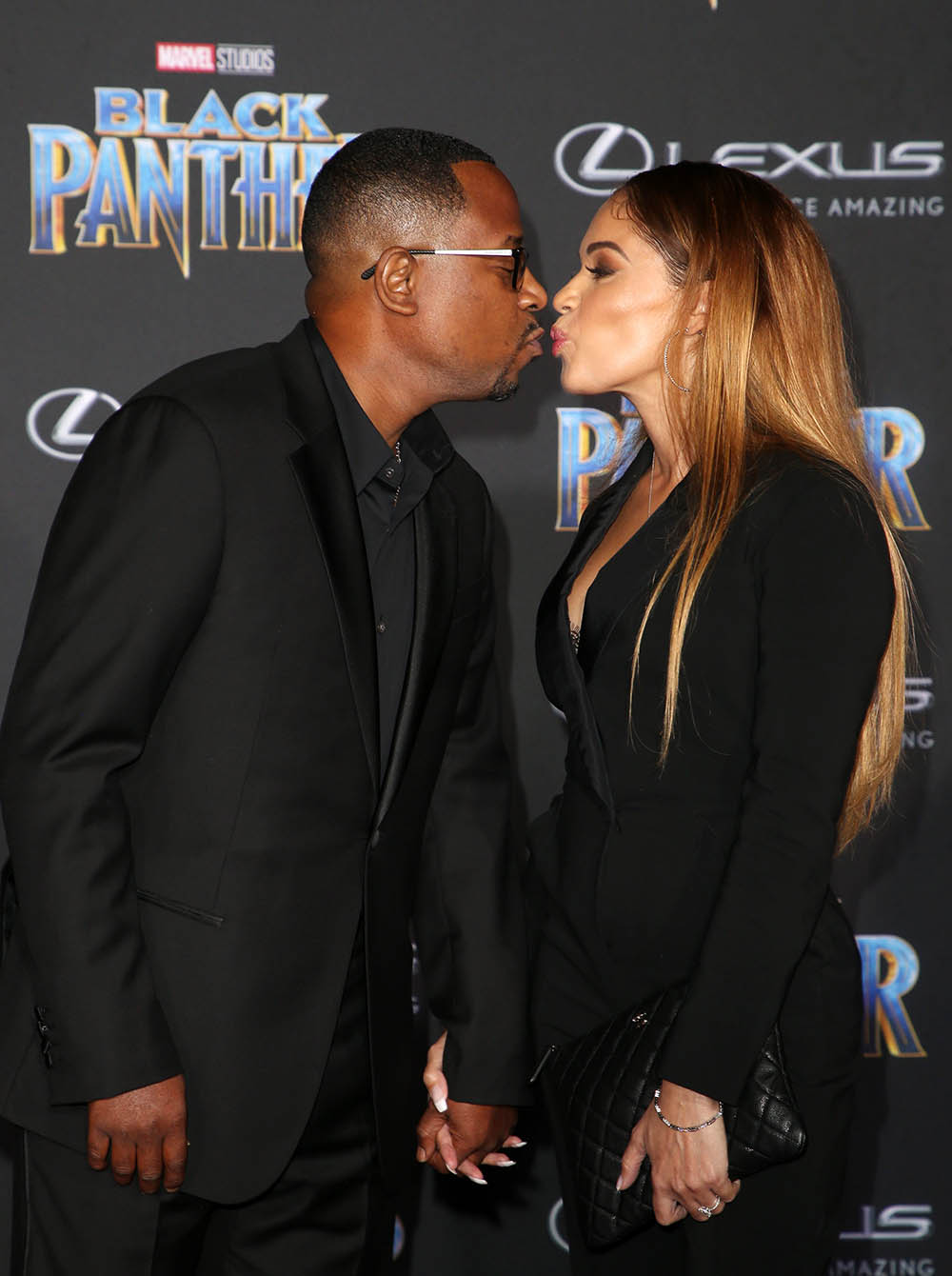 Martin Lawrence Amp Roberta Moradfar At Film Premiere Of