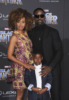 Sterling K. Brown & family at Film Premiere of Black Panther