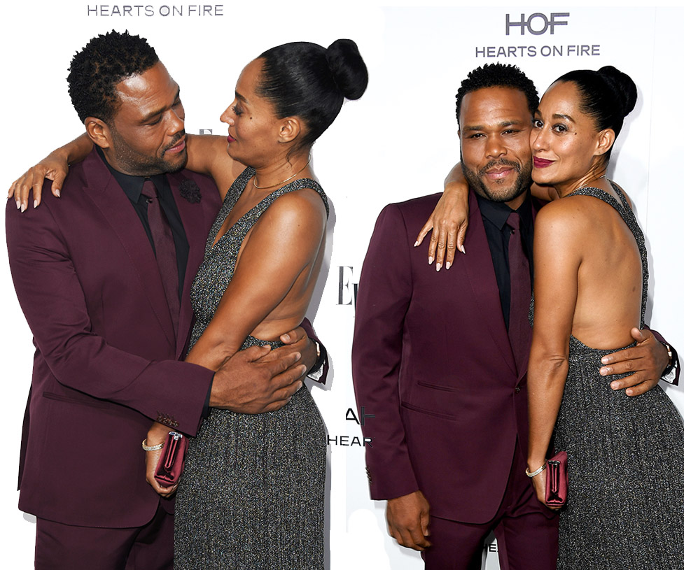 Tracee Ellis Ross and Anthony Anderson