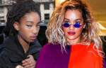 Willow Smith and Rita Ora in Paris, France