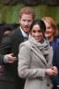 Prince Harry and Meghan Markle visit Reprezent 107.3FM in Brixton