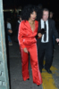 Tracee Ellis Ross leaving Marie Claire's Image Makers Awards party
