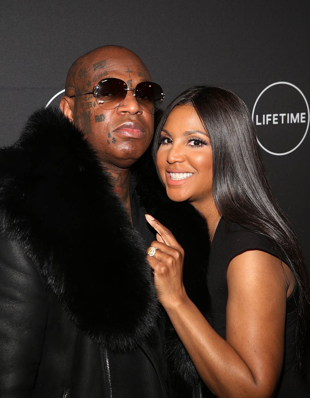 Toni Braxton and Birdman at Lifetime Premiere of Faith Under Fire