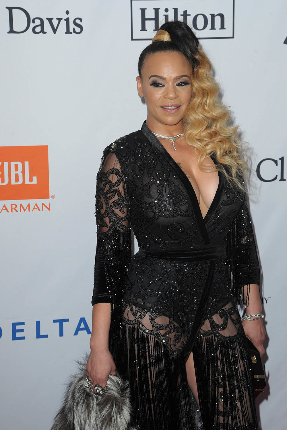 A To Z Auction >> Faith Evans attend Sean Combs attend Pre-Grammy Gala Salute To JAY-Z | Sandra Rose
