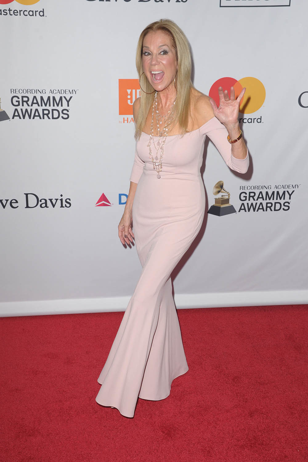 Kathie Lee Gifford attend Sean Combs attend Pre-Grammy ...