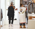 Jennifer Lopez and Alex Rodriguez at Tom Ford in Beverly Hills