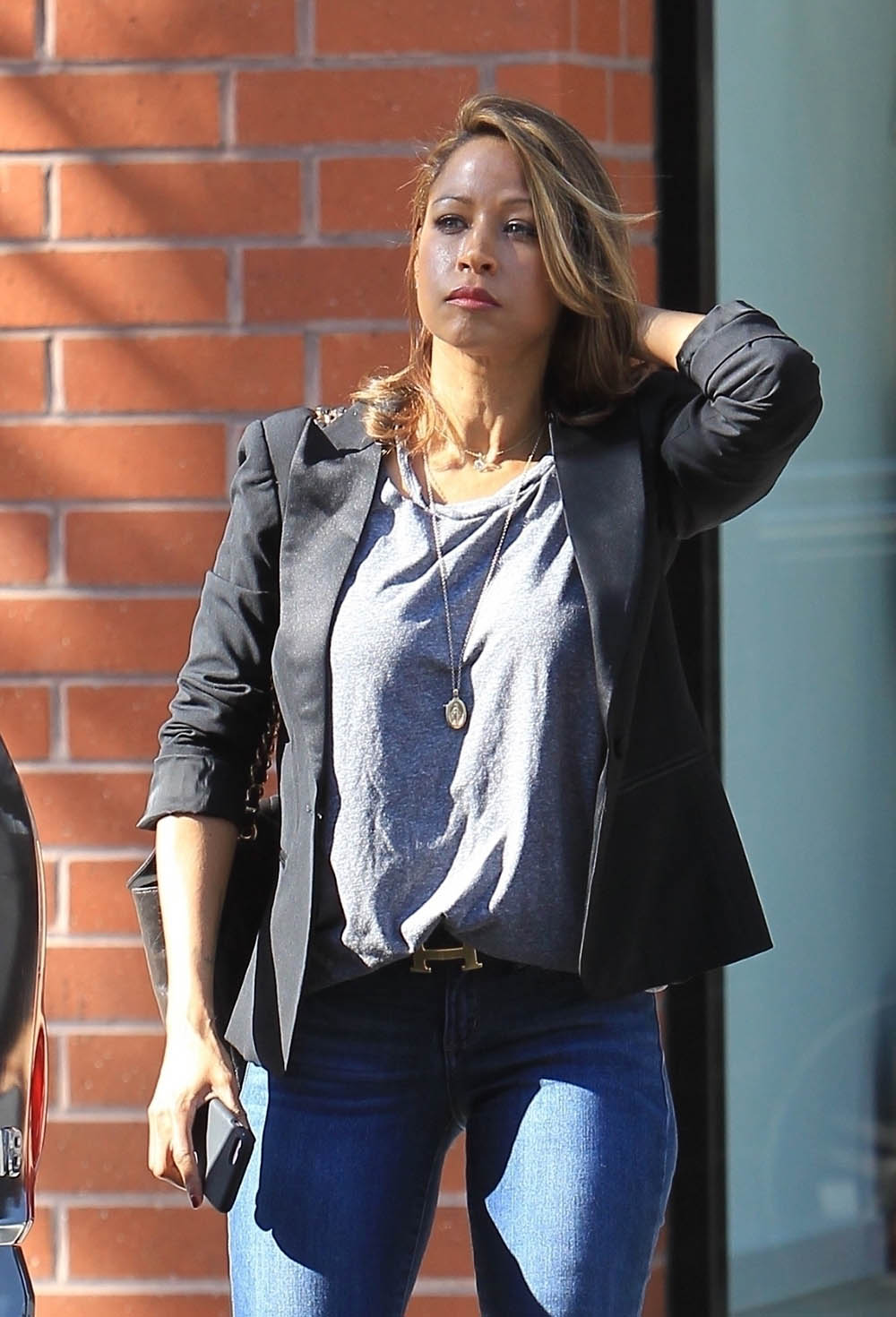 Clueless' star Stacey dash shopping in Beverly Hills