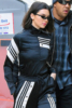 Kendall Jenner and Hailey Baldwin leave Adidas Party