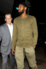 Paul George dines at Craig's Restaurant in West Hollywood