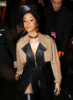 Cardi B poses at the Alexander Wang Fashion Show