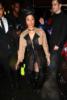 Cardi B poses at the Alexander Wang Fashion Show