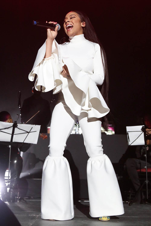 Keyshia Cole performs 'A Night of Love' in Newark, NJ