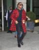 Michael B. Jordan seen in New York City promoting Black Panther