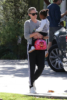 Charlize Theron and daughter August in LA