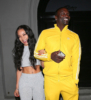Akon and his girlfriend dine at Craig's