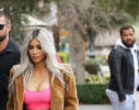 Kim Kardashian spotted out and about on Valentine's Day