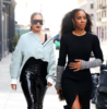 La La Anthony & Kelly Rowland at NY Fashion Week