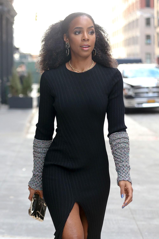 La La Anthony Amp Kelly Rowland At Ny Fashion Week Sandra Rose