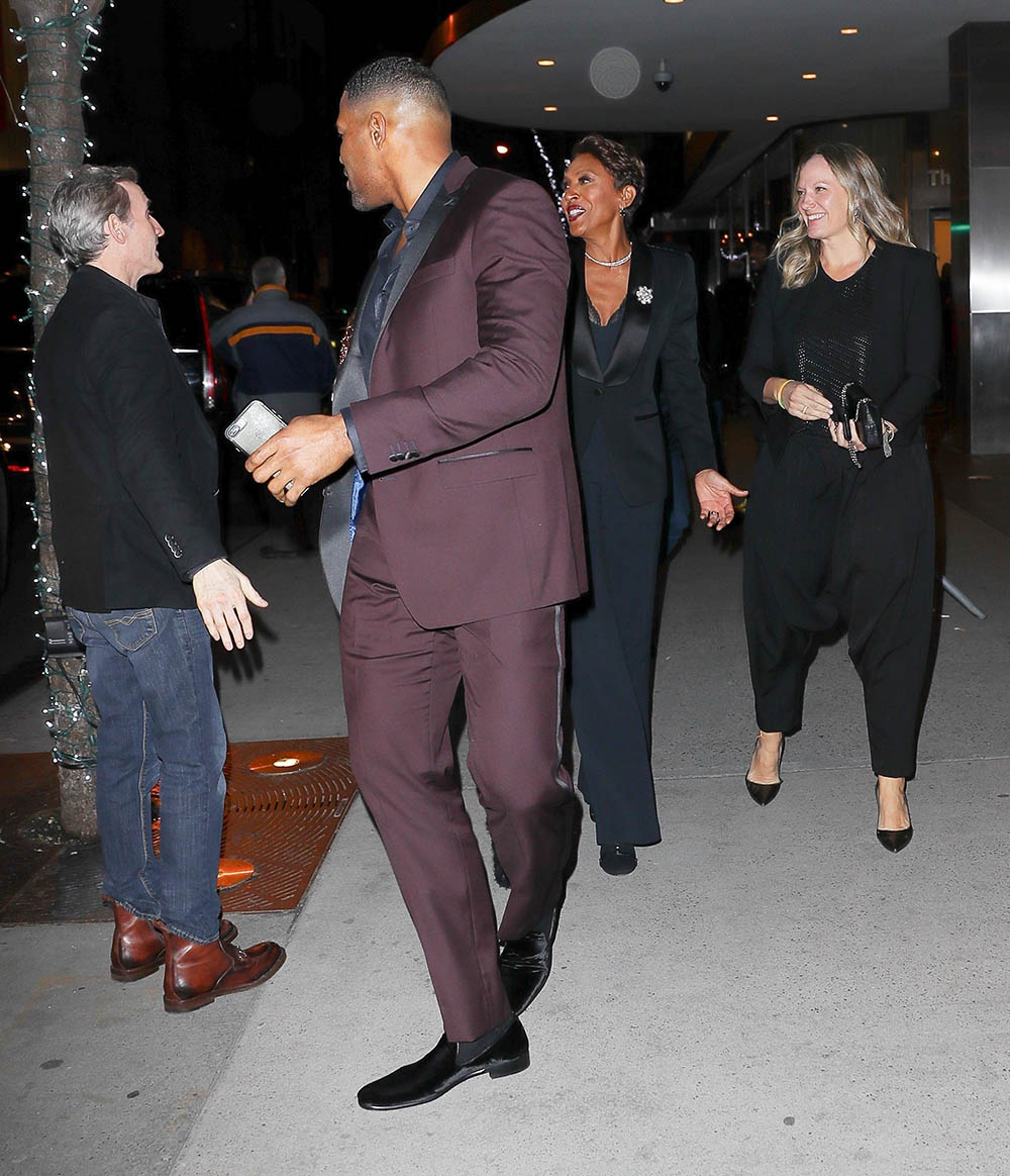 Michael Strahan Amp Kayla Quick Go To See Black Panther With