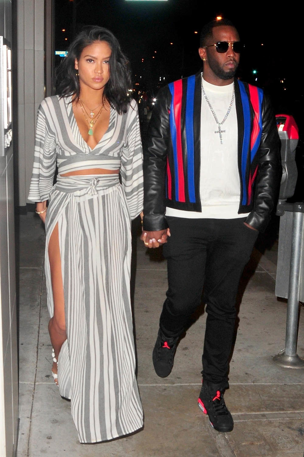 Sean Quot Puffy Quot Combs And Cassie Ventura At Catch La For