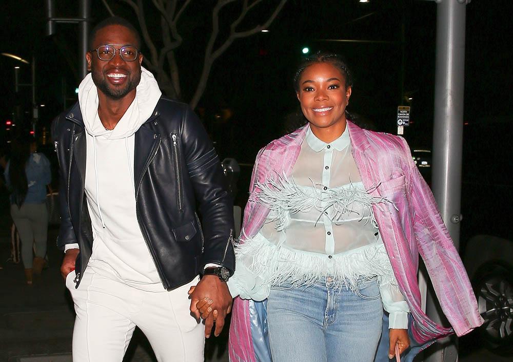 Gabrielle Union & Dwyane Wade on dinner date in Beverly Hills