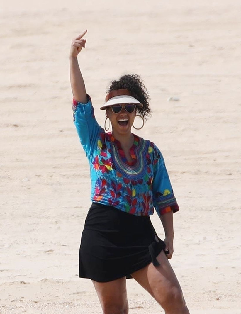 Alicia Keys & Swizz Beatz on vacation in Cabo San Lucas